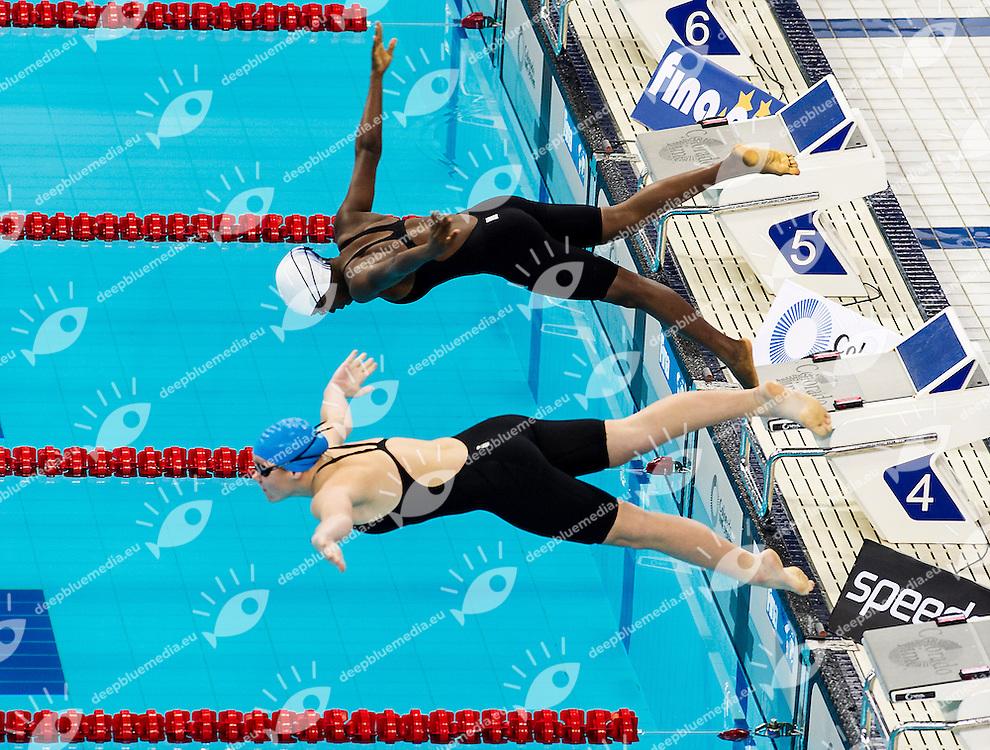 50 Butterfly girl<br /> 4th FINA World Junior Swimming Championships<br /> Day03 Aug.28 Heats<br /> Dubai U.A.E. 26-31 August 2013<br /> Photo R.Pannunzi/Insidefoto/Deepbluemedia.eu