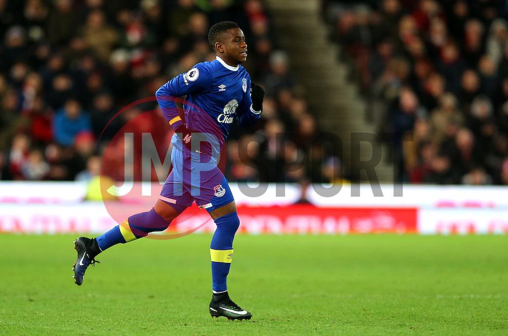 Ademola Lookman of Everton - Mandatory by-line: Matt McNulty/JMP - 01/02/2017 - FOOTBALL - Bet365 Stadium - Stoke-on-Trent, England - Stoke City v Everton - Premier League