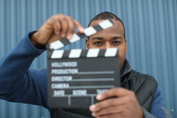 December 14th 2016- Carter Johnson, videographer for Marketing and Communications.