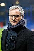 David GINOLA - 11.03.2015 - Chelsea / Paris Saint Germain - 1/8Finale Champions League<br />Photo : Johnny Fidelin / Icon Sport