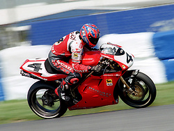 CARL FOGARTY ENG DUCATI CORSE  AD-VF 916R, World Superbike Championship Donington Park  4th May 1997WORLD SUPERBIKE DONN 4/5/1997