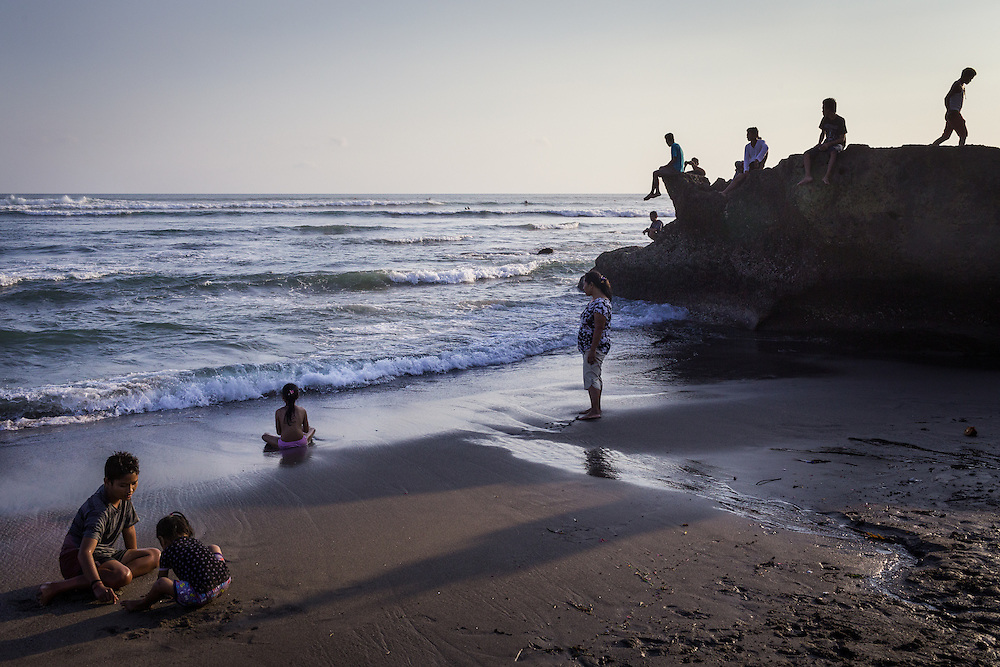 Scenes at Batubolong beach, Canggu.