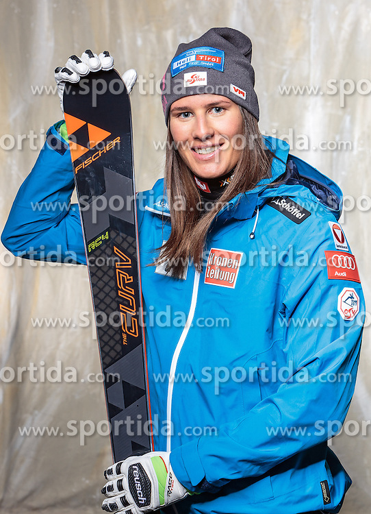 08.10.2016, Olympia Eisstadion, Innsbruck, AUT, OeSV Einkleidung Winterkollektion, Portraits 2016, im Bild Ricarda Haaser, Ski Alpin, Damen // during the Outfitting of the Ski Austria Winter Collection and official Portrait Photoshooting at the Olympia Eisstadion in Innsbruck, Austria on 2016/10/08. EXPA Pictures © 2016, PhotoCredit: EXPA/ JFK