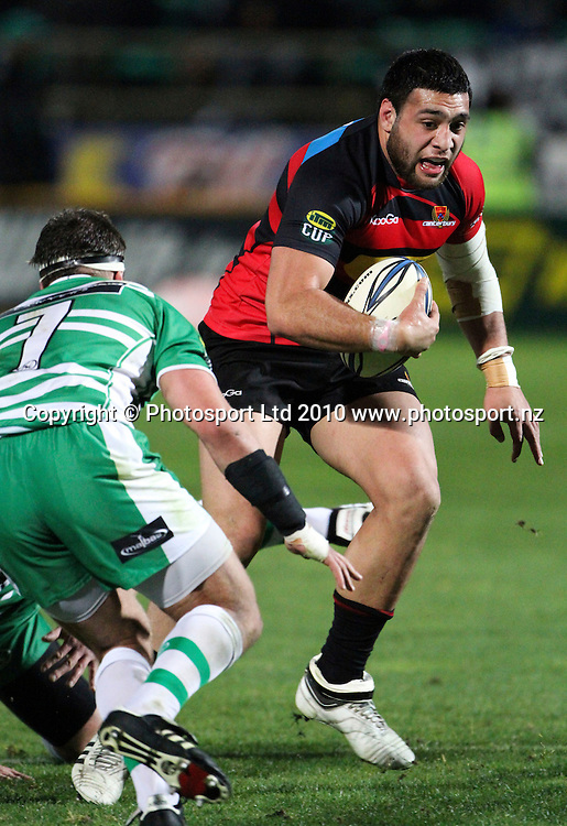Canterbury's Ash Parker. ITM Cup. Manawatu v Canterbury, FMG Stadium, Palmerston North, 5 August 2010. Photo: John Cowpland/PHOTOSPORT