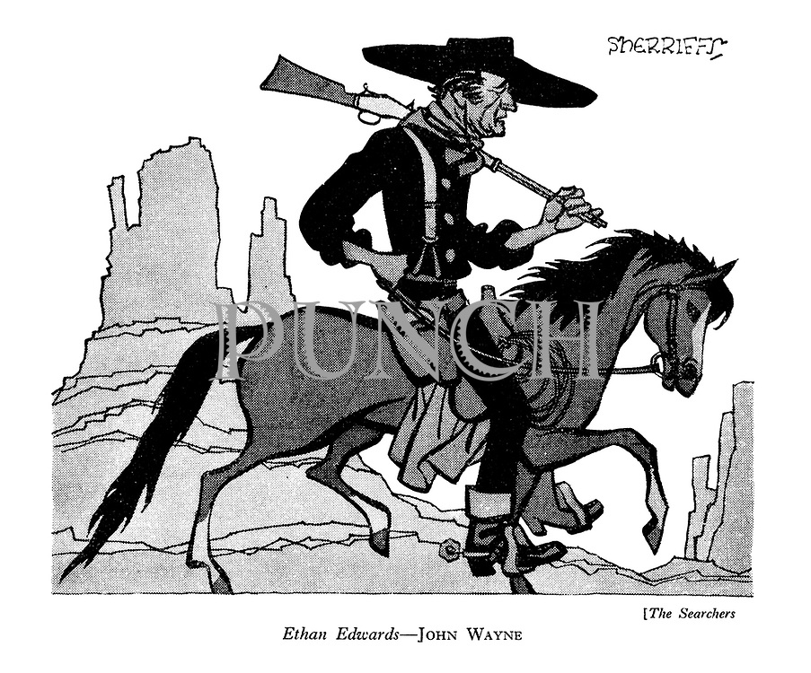 The Searchers : Ethan Edwards - John Wayne