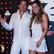 ESP/Ibiza/20130707 - Opening club Eden Ibiza, Lodewijk Hoekstra en partner Kristel