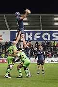 Jono Ross during the Aviva Premiership match between Sale Sharks and Northampton Saints at the AJ Bell Stadium, Eccles, United Kingdom on 25 November 2017. Photo by George Franks.