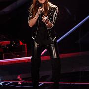 NLD/Hilversum/20131107- The Voice of Holland 1e live uitzending, optreden Gaby Boterkooper