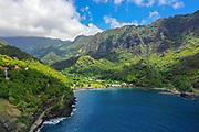 Omao, Fatu Hiva, Marquesas, French Polynesia, South Pacific