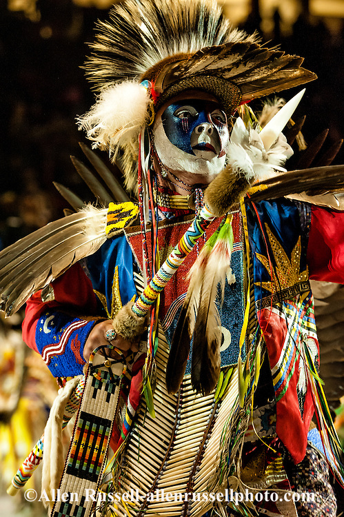 Gathering of Nations Pow Wow, Traditional Dancer, Albuquerque, New Mexico