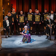 Pacific Music Works and UW School of Music production of Magic Flute. Cyndia Sieden, The Queen of the Night.