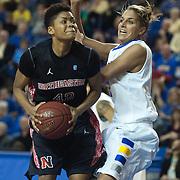 NCAA WOMEN'S BASKETBALL 2012 - FEB 26 - #9 Delaware defeats Northeastern 89-71