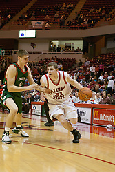 Michael Vandello<br /> 03 December 2005: The Illinois State Redbirds shot a stunning 61% in the 2nd half as the University of Wisconsin Phoenix fell to the hosts  59-51during the late afternoon game at Redbird Arena in Normal IL
