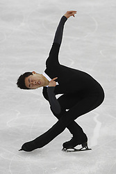 February 17, 2018 - Pyeongchang, South Korea - NATHAN CHEN  of the United States competing in the men's figure skating free skate program during the Pyeongchang 2018 Olympic Winter Games at Gangneung Ice Arena. (Credit Image: © David McIntyre via ZUMA Wire)