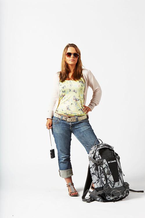 Youth Traveller, Working Holiday Maker, Visa 417, Gate 417, Backpacker, Youth Hostel, Sydney, Australia, German traveller, backpack, iPhone, camera, compact camera, selfie, sun glasses, Sydney Australia