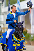Christian Ahlmann - Solid Gold Z<br /> FEI World Breeding Jumping Championship 2018<br /> © DigiShots