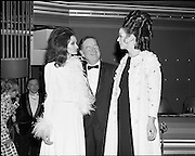 07/01/1969.01/07/1969.07 January 1969.Eurofashion Final at Shelbourne Hotel. The Irish section of the 1969 Eurofashion Contest judged by John McGuire, Miss Leonora Currie and Mrs Nuala Mc Laughlin. Pictured are winner Colette Dowling (21) Kincora Road, Clontarf, (left) and model Liz Willoughby, wearing one of Miss Dowling's winning outfits.
