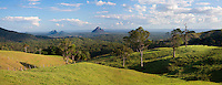 One of the classic views from the Sunshine Coast hinterland, this one taken from Bald Knob rd.