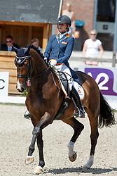 Bos Rosalie (NED) - Equestrocone Bouta<br /> Equine MERC Young Riders Team Test<br /> Dutch Championship Dressage - Ermelo 2015<br /> © Hippo Foto - Dirk Caremans<br /> 17/07/15