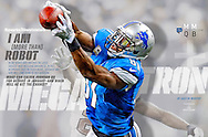 Sports Illustrated Megatron double truck