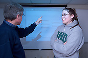 08-18577..College of Engineering Classroom shots..Dusan Sormaz  & Samantha Hedges