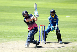 Heather Knight of England Women goes on the attack - Mandatory by-line: Robbie Stephenson/JMP - 02/07/2017 - CRICKET - County Ground - Taunton, United Kingdom - England Women v Sri Lanka Women - ICC Women's World Cup Group Stage