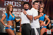 Pacquiao and Rios Presser NY