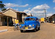 Car in Guira de Melena, Artemisa, Cuba.