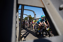 Maaike Boogaard (NED) in the bunch on Stage 2 of 2020 Santos Women's Tour Down Under, a 114.9 km road race from Murray Bridge to Birdwood, Australia on January 17, 2020. Photo by Sean Robinson/velofocus.com