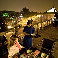 Restaurtants and bars in Beijing, China, on Monday  May 25, 2009/ Photographer: Bernardo De Niz/