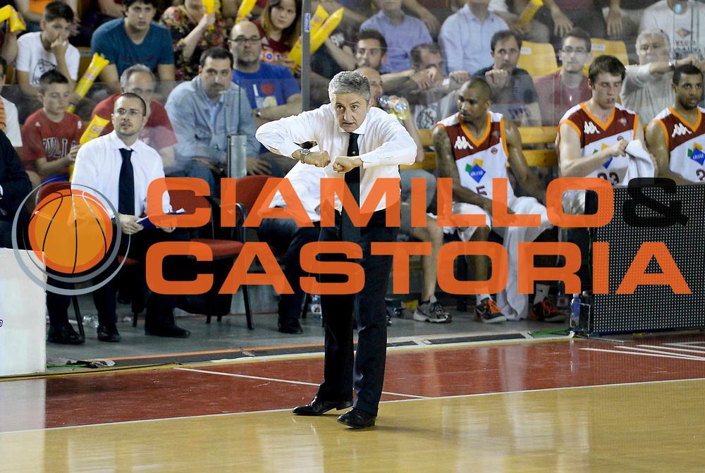 DESCRIZIONE : Roma Lega A 2012-13 Acea Virtus Roma Montepaschi Siena Finale Gara 1<br /> GIOCATORE : Marco Calvani<br /> CATEGORIA : coach schema <br /> SQUADRA : Acea Virtus Roma<br /> EVENTO : Campionato Lega A 2012-2013 Play Off Finale Gara1<br /> GARA : Acea Virtus Roma Montepaschi Siena Finale Gara 1<br /> DATA : 11/06/2013<br /> SPORT : Pallacanestro <br /> AUTORE : Agenzia Ciamillo-Castoria/N. Dalla Mura<br /> Galleria : Lega Basket A 2012-2013 <br /> Fotonotizia : Roma Lega A 2012-13 Acea Virtus Roma Montepaschi Siena Finale Gara 1