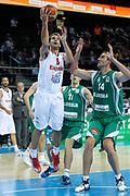 DESCRIZIONE : Kaunas Lithuania Lituania Eurobasket Men 2011 Quarter Final Round Spagna Slovenia Spain Slovenia<br /> GIOCATORE : Jose Calderon<br /> CATEGORIA : tiro penetrazione<br /> SQUADRA : Spagna Spain <br /> EVENTO : Eurobasket Men 2011<br /> GARA : Spagna Slovenia Spain Slovenia<br /> DATA : 14/09/2011<br /> SPORT : Pallacanestro <br /> AUTORE : Agenzia Ciamillo-Castoria/M.Metlas<br /> Galleria : Eurobasket Men 2011<br /> Fotonotizia : Kaunas Lithuania Lituania Eurobasket Men 2011 Quarter Final Round Spagna Slovenia Spain Slovenia<br /> Predefinita :