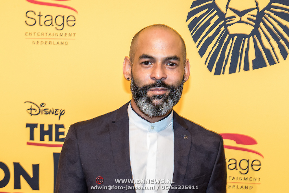 NLD/Scheveningen/20161030 - Premiere musical The Lion King, Ivo Chundro