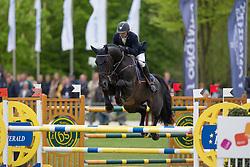 Corten Stefan, (BEL), Iron Man van de Padenborre<br /> Belgian Championships 7 years old horses<br /> Longines Spring Classic of Flanders - Lummen 2015<br /> © Hippo Foto - Dirk Caremans<br /> 03/05/15