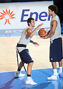 DESCRIZIONE : Bormio Ritiro Nazionale Italiana Maschile Preparazione Eurobasket 2007 Allenamento Preparazione fisica<br /> GIOCATORE : Giuliano Maresca Luca Vitali<br /> SQUADRA : Nazionale Italia Uomini EVENTO : Bormio Ritiro Nazionale Italiana Uomini Preparazione Eurobasket 2007 GARA : <br /> DATA : 22/07/2007 <br /> CATEGORIA : Allenamento <br /> SPORT : Pallacanestro <br /> AUTORE : Agenzia Ciamillo-Castoria/E.Castoria<br /> Galleria : Fip Nazionali 2007 <br /> Fotonotizia : Bormio Ritiro Nazionale Italiana Maschile Preparazione Eurobasket 2007 Allenamento <br /> Predefinita :