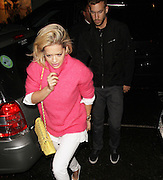 13.MAY.2013. LONDON<br /> <br /> RITA ORA AND CALVIN HARRIS AT THE ELECTRIC CINEMA IN NOTTING HILL.<br /> <br /> BYLINE: EDBIMAGEARCHIVE.CO.UK<br /> <br /> *THIS IMAGE IS STRICTLY FOR UK NEWSPAPERS AND MAGAZINES ONLY*<br /> *FOR WORLD WIDE SALES AND WEB USE PLEASE CONTACT EDBIMAGEARCHIVE - 0208 954 5968*
