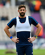 Liam Plunkett of England warming up before the One Day International match between England and West Indies at the Ageas Bowl, Southampton, United Kingdom on 29 September 2017. Photo by Graham Hunt.