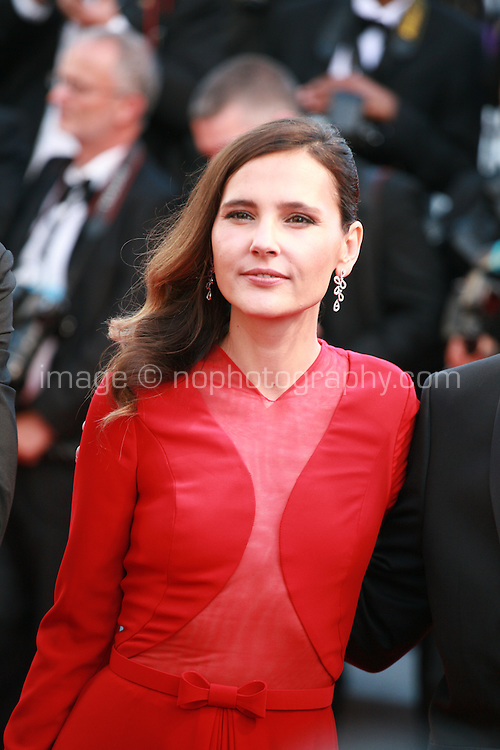 Virginie Ledoyen at the gala screening for the film Inside Out at the 68th Cannes Film Festival, Monday May 18th 2015, Cannes, France