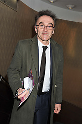DANNY BOYLE at the What's On Stage Awards 2012 held at the Prince of wales Theatre, London on 19th February 2012.
