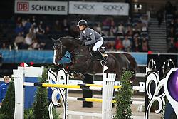 Schwizer Pius, (SUI), Giovanni van het Scheefkasteel<br /> Grand Prix of Stuttgart <br /> Longines FEI World Cup<br /> Stuttgart - German Masters 2015<br /> © Hippo Foto - Stefan Lafrentz