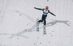09.03.2020, Lysgards Schanze, Lillehammer, NOR, FIS Weltcup Skisprung, Raw Air, Lillehammer, Herren, im Bild Constantin Schmid (GER) // Constantin Schmid of Germany during men's 2nd Stage of the Raw Air Series of FIS Ski Jumping World Cup at the Lysgards Schanze in Lillehammer, Norway on 2020/03/09. EXPA Pictures © 2020, PhotoCredit: EXPA/ JFK