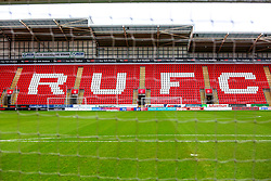 A general view of the Aesseal New York Stadium, home to Rotherham United - Mandatory by-line: Ryan Crockett/JMP - 15/02/2020 - FOOTBALL - Aesseal New York Stadium - Rotherham, England - Rotherham United v AFC Wimbledon - Sky Bet League One