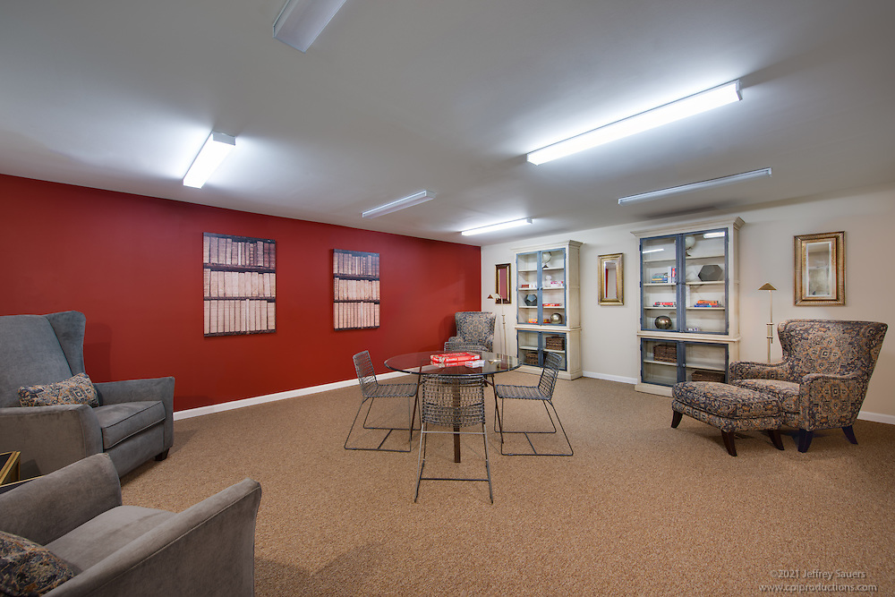 Interior image of Mary Harvin Senior Apartments in Baltimore Maryland by Jeffrey Sauers of Commercial Photographics, Architectural Photo Artistry in Washington DC, Virginia to Florida and PA to New England