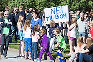 Bomprotest på Kverve