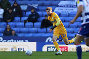 Tom Barkhuizen (29) of Preston North End during the EFL Sky Bet Championship match between Reading and Preston North End at the Madejski Stadium, Reading, England on 19 October 2019.