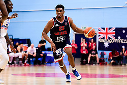 Marcus Delpeche of Bristol Flyers - Photo mandatory by-line: Ryan Hiscott/JMP - 26/04/2019 - BASKETBALL - SGS Wise Arena - Bristol, England - Bristol Flyers v London City Royals - British Basketball League Championship