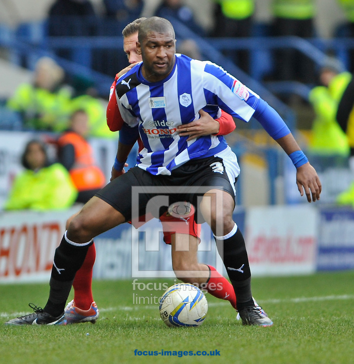Picture by Richard Land/Focus Images Ltd +44 7713 507003.16/03/2013.Reda Johnson of Sheffield Wednesday and Craig Bellamy of Cardiff City during the npower Championship match at Hillsborough, Sheffield.