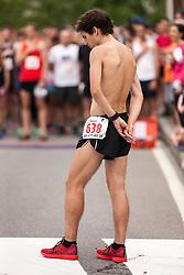 LL Bean Fourth of July 10K road race: Chris Harmon pre-race