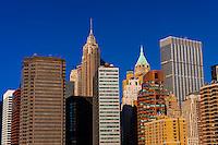 Lower Manhattan, New York, New York USA.