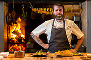 Chef Andrew Brochu, prepares a dish called Hearth Roasted Fennel at Roister, a restaurant in the Fulton Market neighborhood of Chicago, Ill., on Thursday, May 12, 2016. Nathan Weber for New York Times